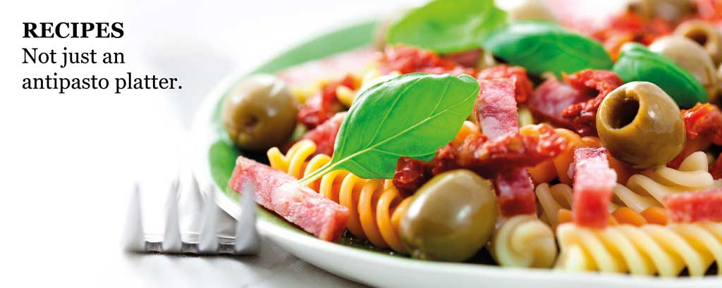 Recipes - not just an antipasto platter